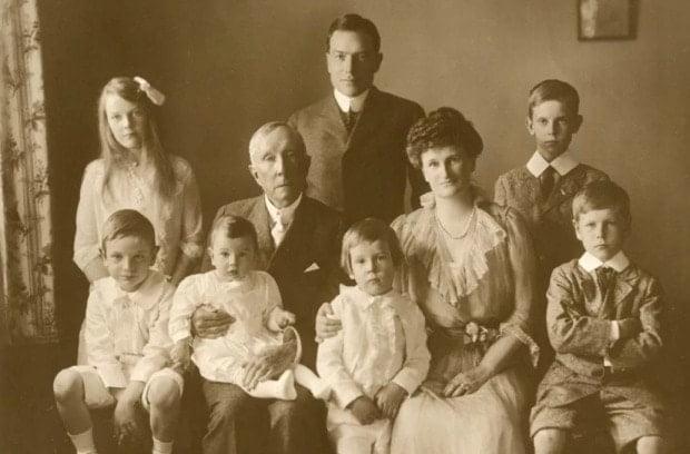 Джон Рокфеллер семья